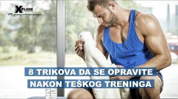 8 trikova da se oporavite nakon teškog treninga