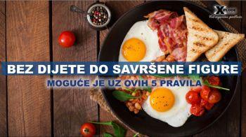 Bez dijete do savršene figure - Xplode Nutrition - Siplementi Srbija