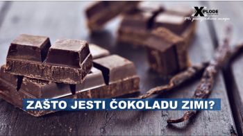 Zašto jesti čokoladu zimi?