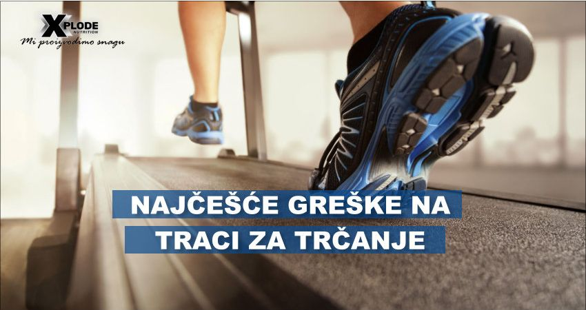 Najčešće greške na traci za trčanje