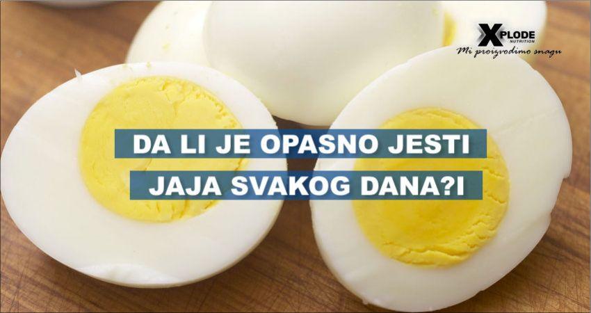 Da li je opasno jesti jaja svakog dana?