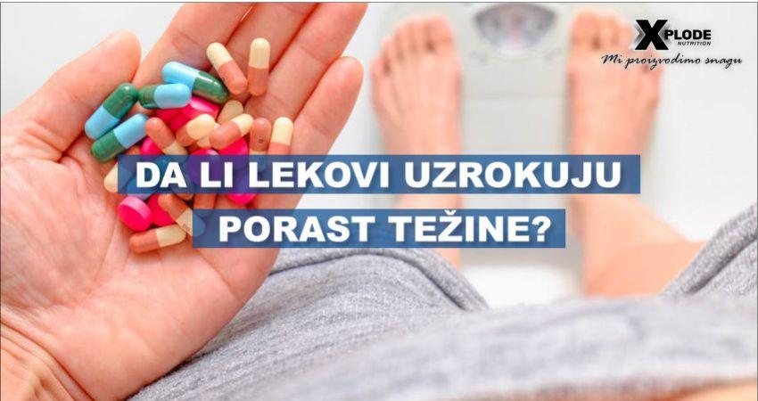 Da li lekovi uzrokuju porast telesne težine?