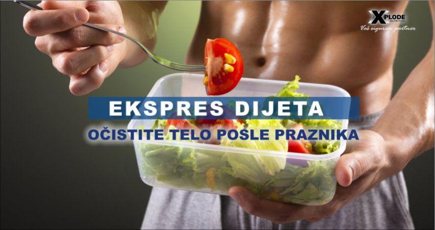 Ekspres dijeta: Očistite telo posle praznika - Xplode Nutrition