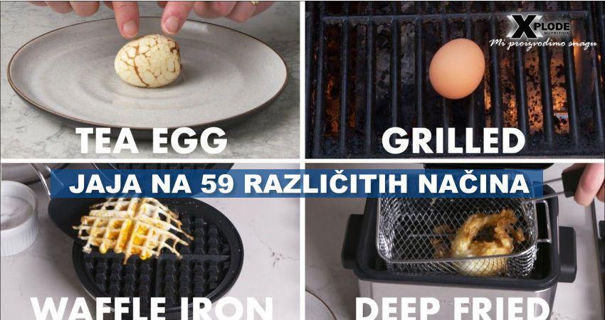 Jaja na 59 različitih načina