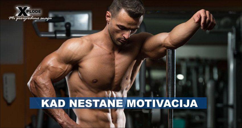 Šta učiniti kada nestane motivacija?
