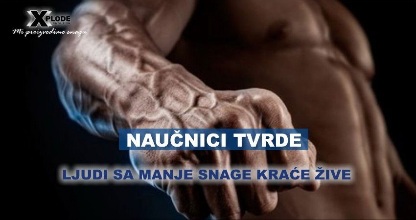 ljudi sa manje snage kraće žive