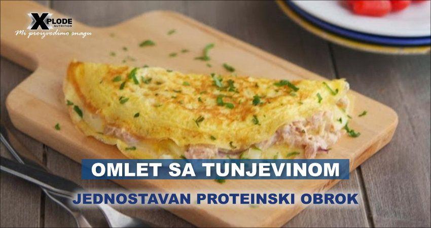 Omlet sa tunjevinom