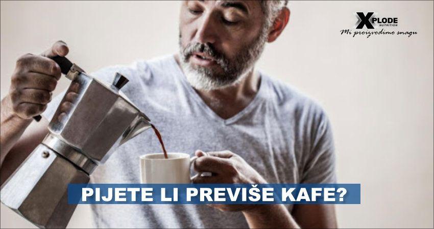 Pijete li previše kafe?