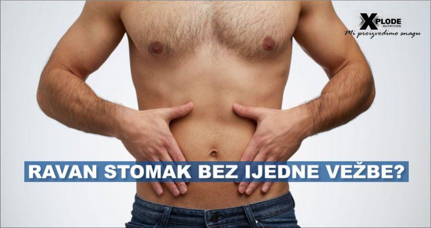 Ravan stomak bez ijedne vežbe?