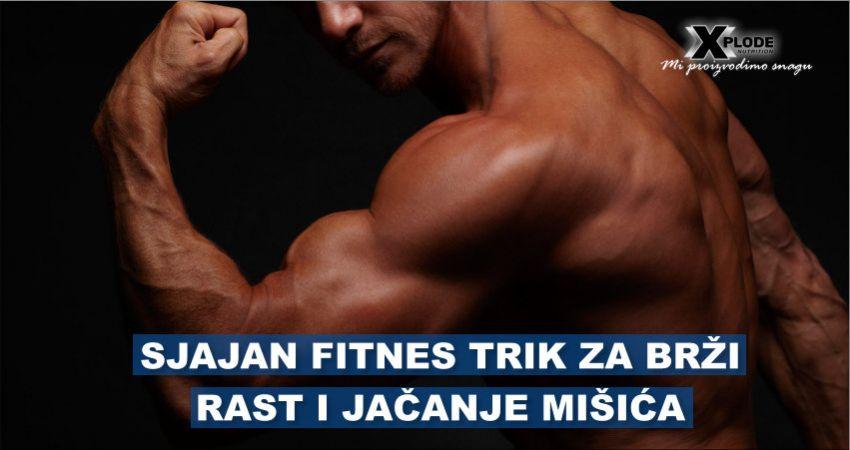 Sjajan fitnes trik za brži rast i jačanje mišića