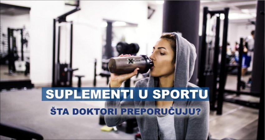 Suplementi u sportu - Xplode Nutrition