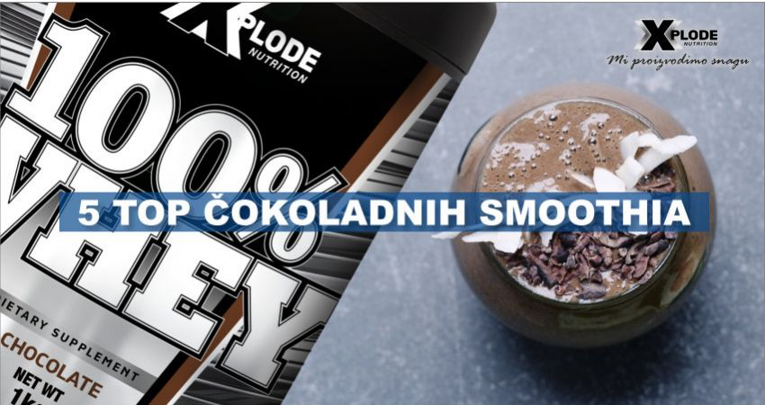 5 top čokoladnih proteinskih smoothia