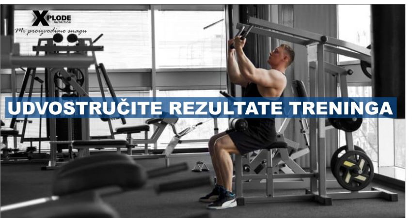 Udvostručite rezultate treninga | Xplode Nutrition