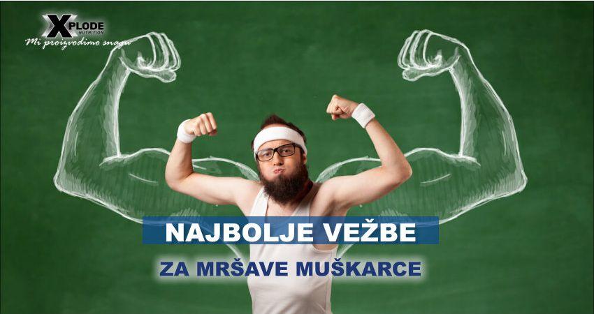 Najbolje vežbe za mršave muškarce