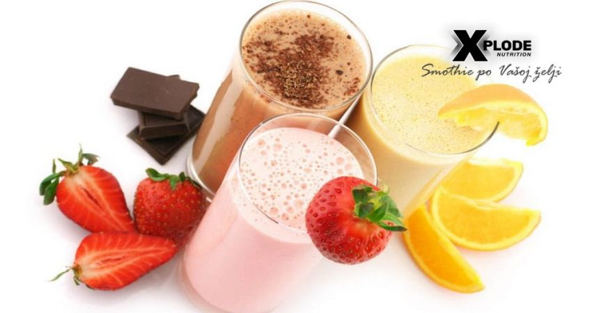 Whey smoothie Xplode Nutrition
