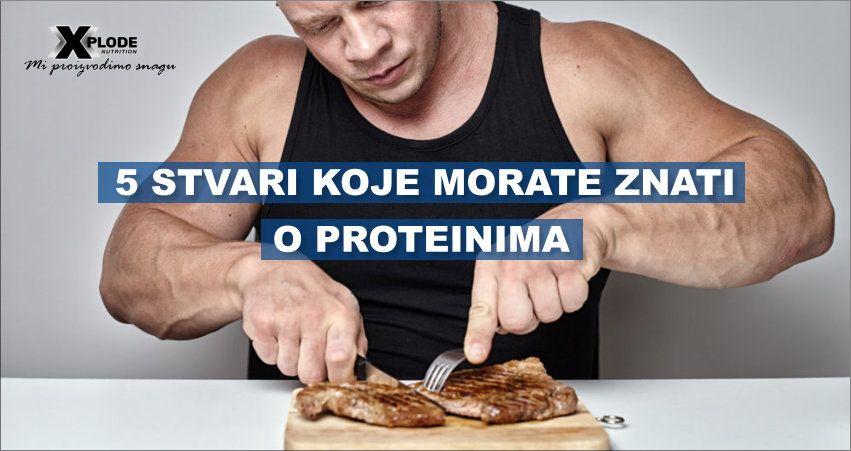 5 stvari koje morate znati o proteinima | Xplode Nutrition