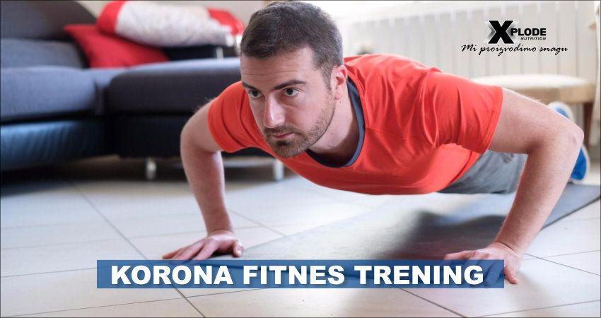 Korona fitnes trening