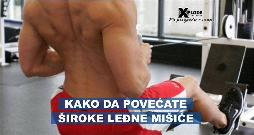 Kako da povećate široke leđne mišiće