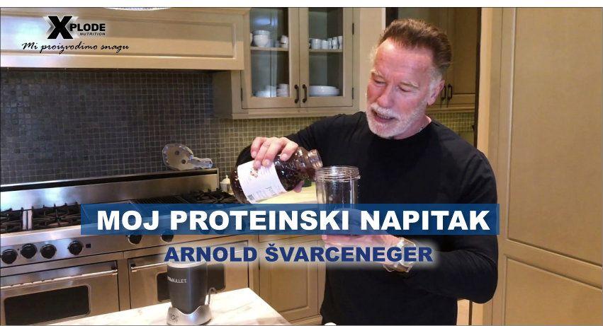 Moj proteinski napitak - Arnold Švarceneger