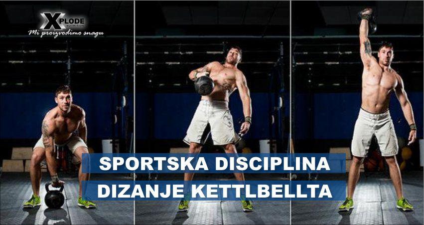 Sportska disciplina - dizanje kettlbella