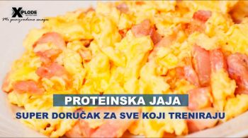 Proteinska jaja - super doručak za sve koji treniraju